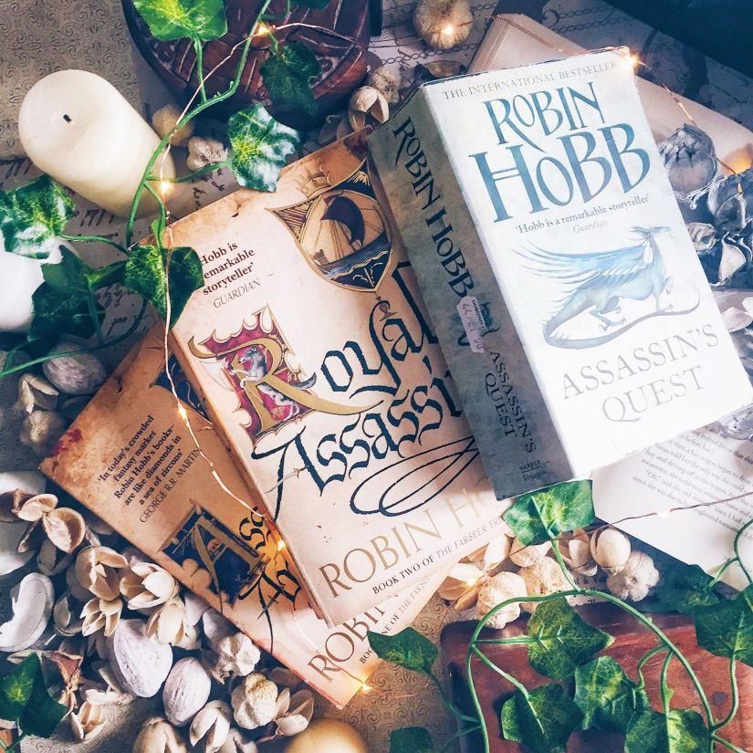 The Farseer Trilogy by RobinHobb